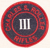 Roller Rifle Patch